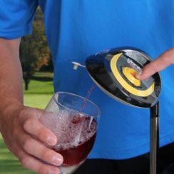 Brookstone, Electric Gold Drink Dispenser $71