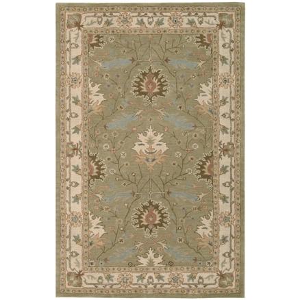 Overstock.com- Nourison Hand tufted Caspian Wool Rug