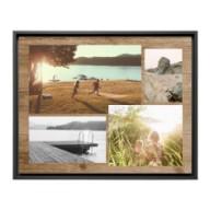 Shutterfly Custom Collage Framed Canvas Print- $77